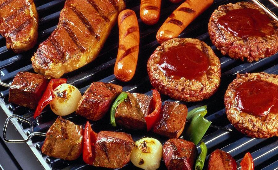 Bếp hồng ngoại có nướng được thịt không