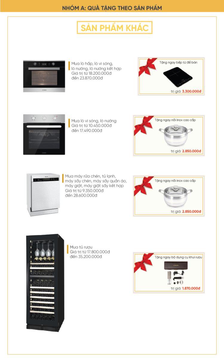 Sắm bếp thông minh nhận quà cực đỉnh