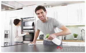 Các bước vệ sinh bếp từ đơn giản